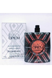 Black Opium Pure Illusion Yves Saint Laurent for women 90 ML ORJİNAL TESTER