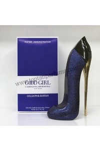CAROLINA HERRERA GOOD GIRL COLLECTOR EDITION EDP mavi 80ML PERFUME FOR WOMEN tester
