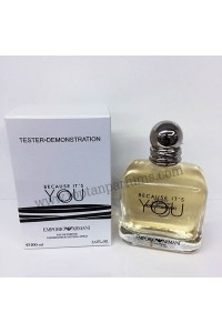 Emporio Armani Because It's You EDP 100 ml Kadın Parfüm orgınal tester