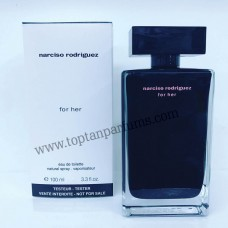 Narciso Rodriguez For Her siyah EDT Bayan  Parfüm 100ml tester