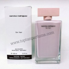 Narciso Rodriguez for her pembe  eau de parfum 100ml bayan tester