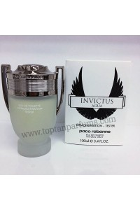 Paco Rabanne Invictus Aqua 100 ml edt for men tester parfum